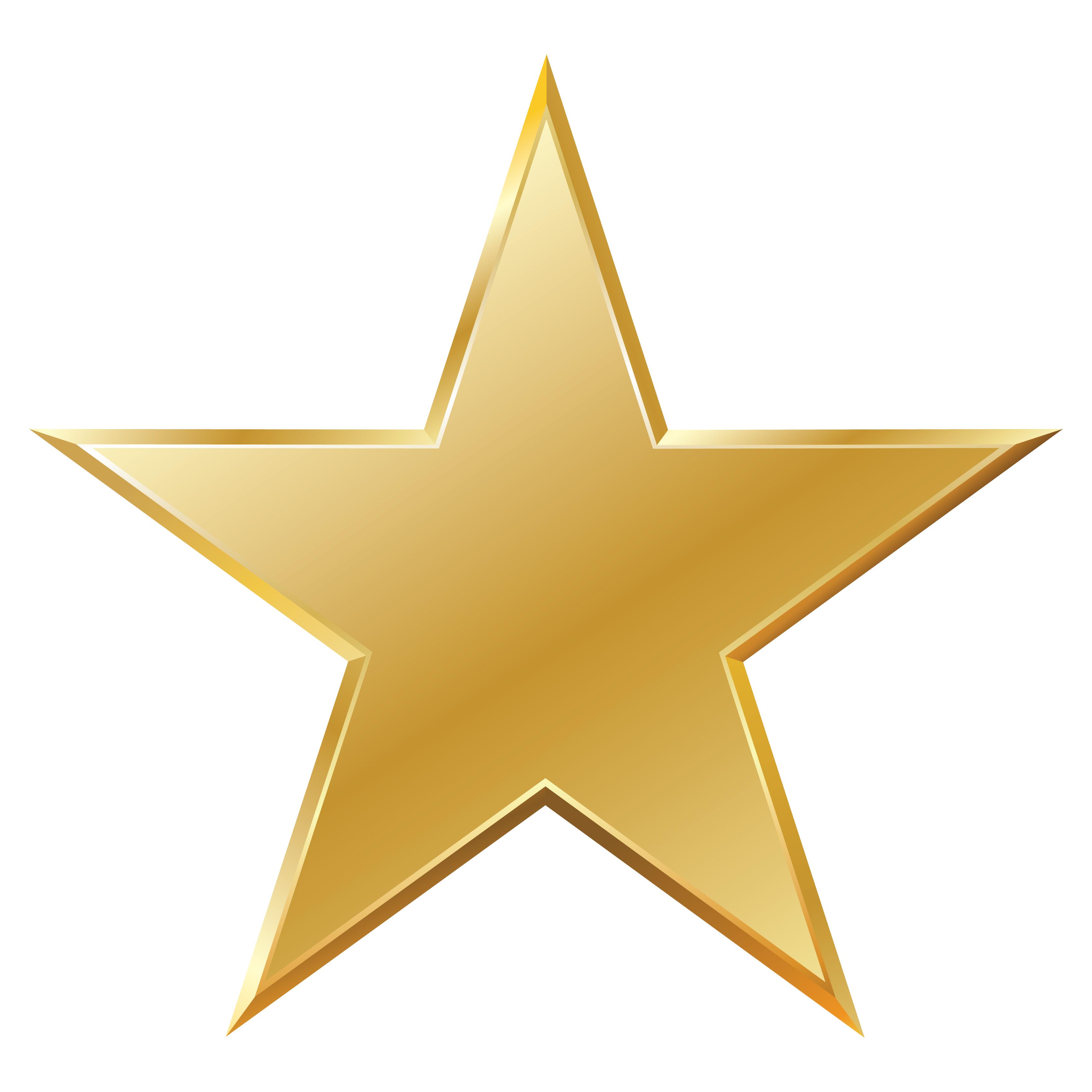 Star Gold Clip art.