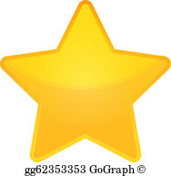 Gold Star Clip Art.