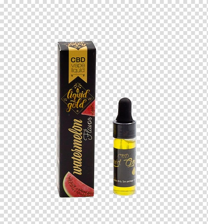 Cannabidiol Vaporizer Hemp oil Tincture of cannabis, Gold.