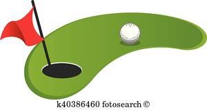 Golf Clipart Vectors.