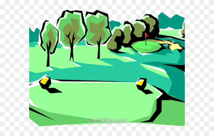 Golf Course Clipart Father\'s Day.