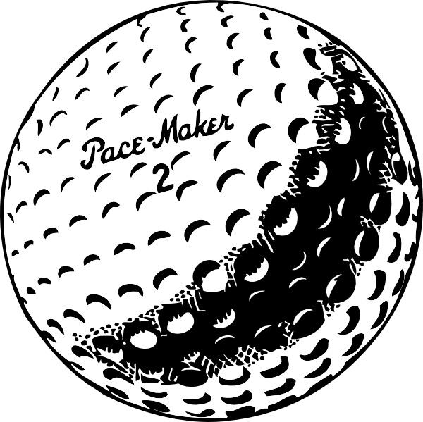 Golf ball golfball clip art free vector in open office.