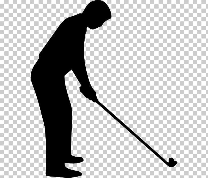 Golf Clubs Golf stroke mechanics Silhouette , Golfer PNG.