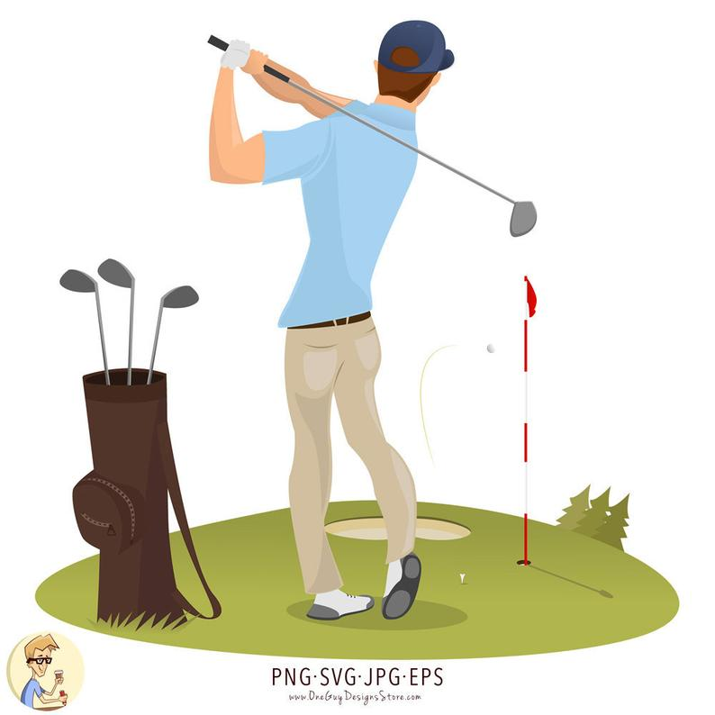 Golfing clipart golfer, Golfing golfer Transparent FREE for.