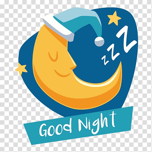Good Night transparent background PNG cliparts free download.