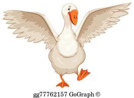 Goose Clip Art.
