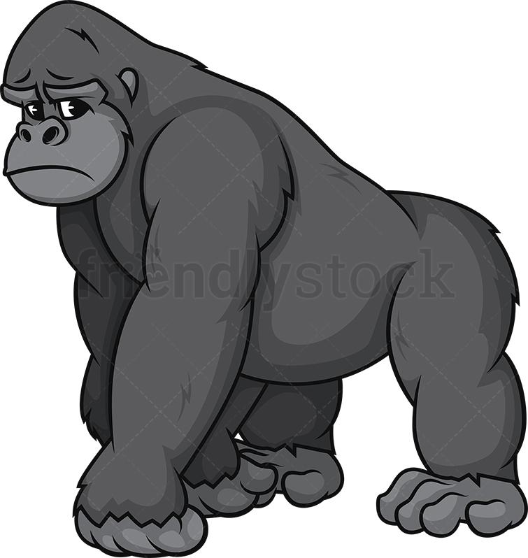 Sad Gorilla.