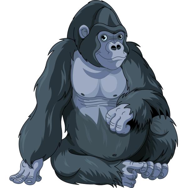 Thoughtful Gorilla.