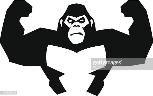 60 Top Gorilla Stock Illustrations, Clip art, Cartoons, & Icons.