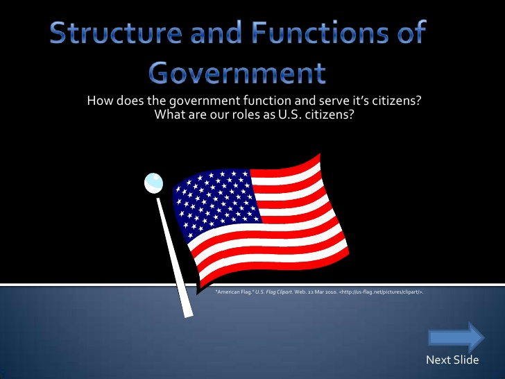 Structure And Functions Of Government.