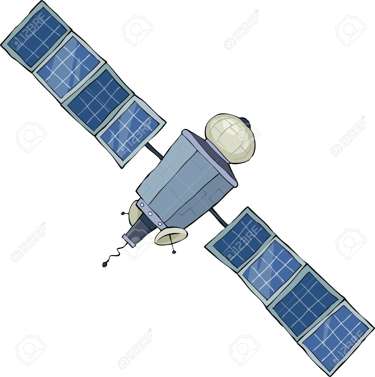 Showing post & media for Gps satellite cartoon.