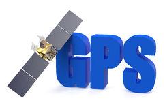 GPS Satellite Royalty Free Stock Photo.