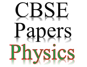 CBSE Sample Papers for Class 12 Physics (With Solutions) in PDF.