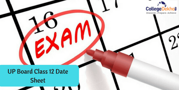 UP Board Intermediate (12th) Exam Date Sheet 2020, Time.