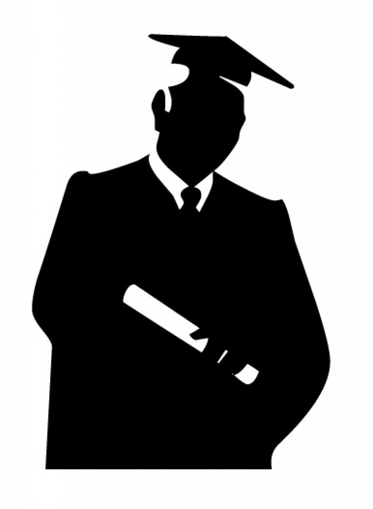 clipart graduate silhouette 20 free Cliparts   Download ...