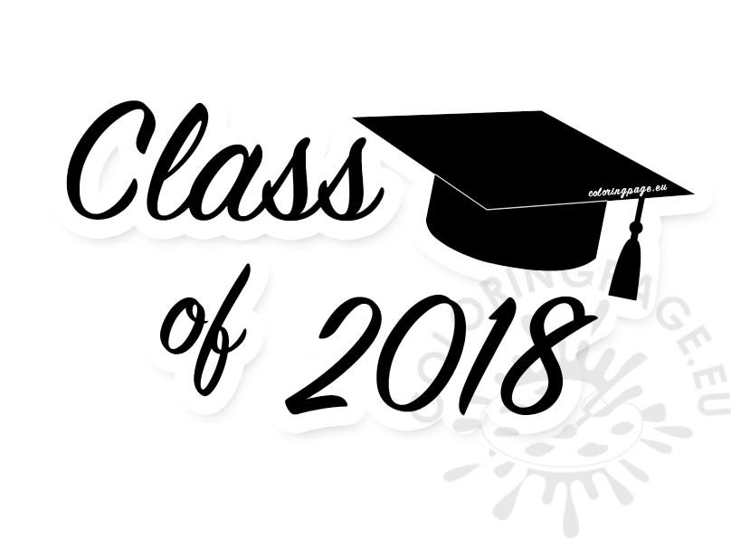 Graduation 2018 clipart » Clipart Station.