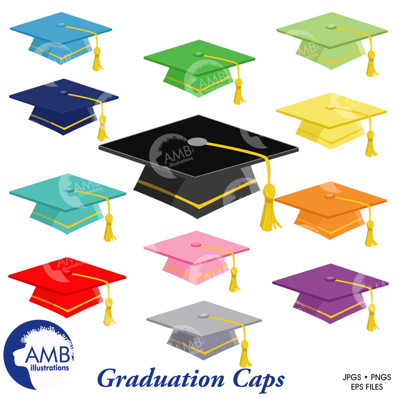 Graduation caps, Graduation caps clipart, AMB.