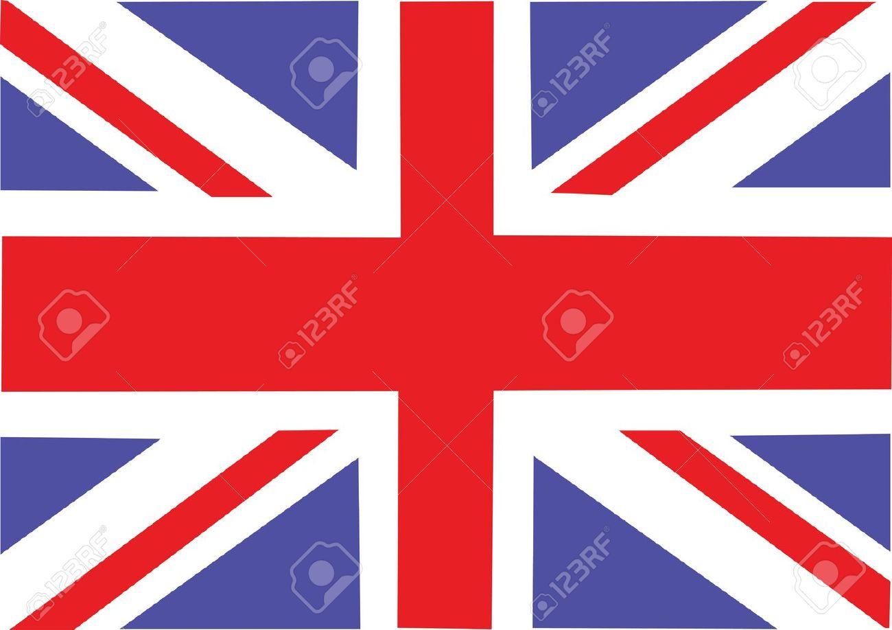 Gran Bretagna Bandiera Illustrazione Clipart Royalty.