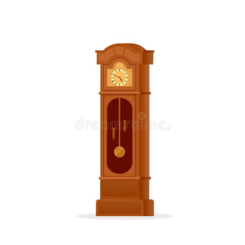 Grandfather Clock Stock Illustrations.