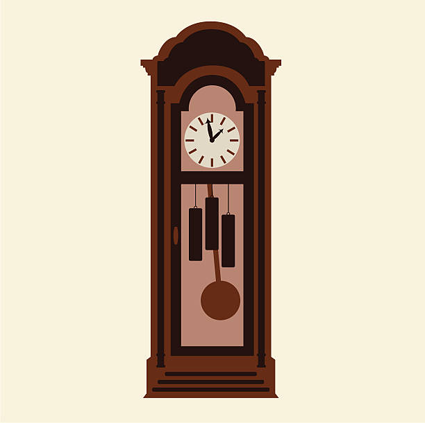 Best Grandfather Clock Illustrations, Royalty.