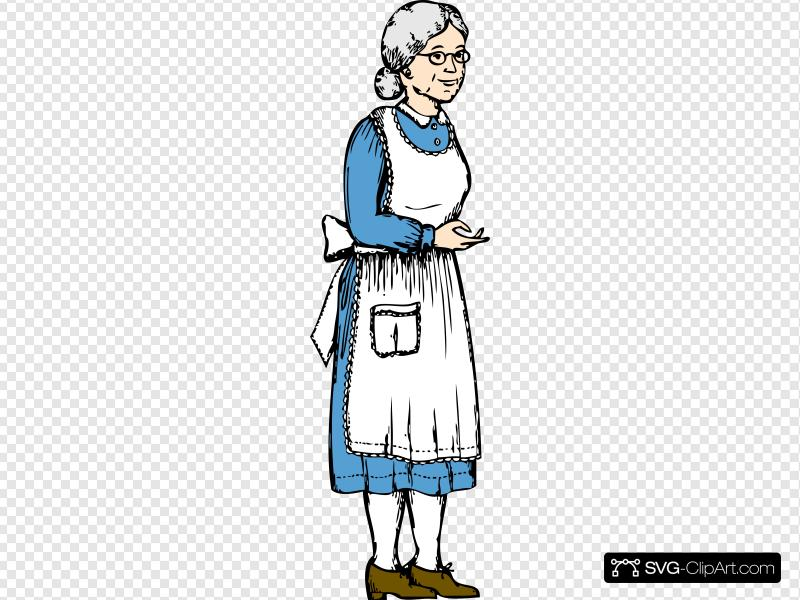 Grandma Clip art, Icon and SVG.