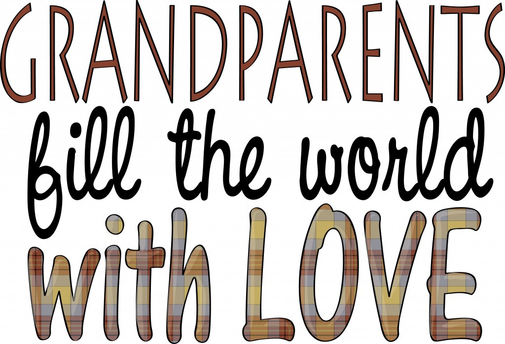 National Grandparents Day 2015 Clipart.