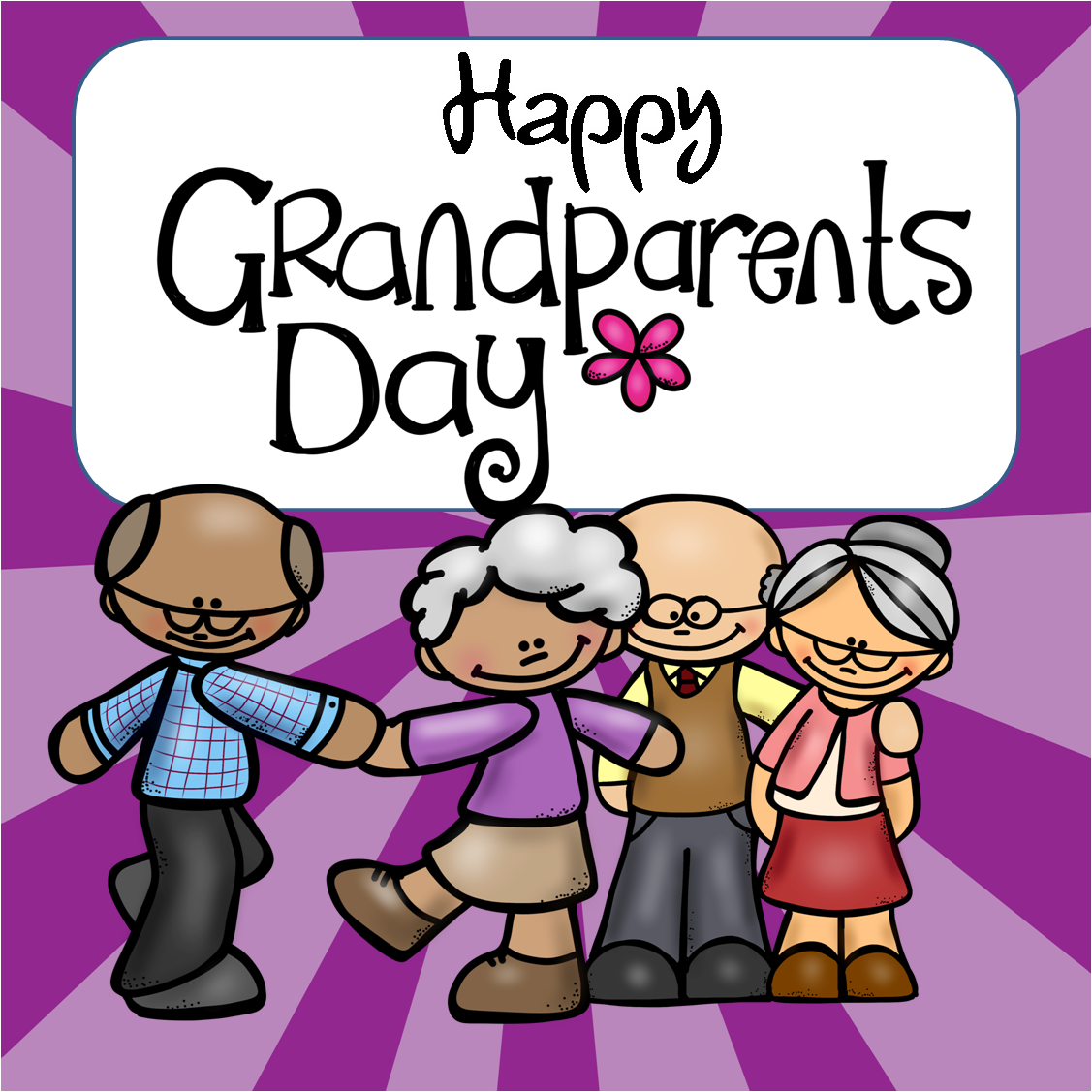 Grandparents Day Clip Art Free.