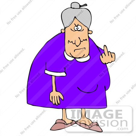 Old Granny Clipart.