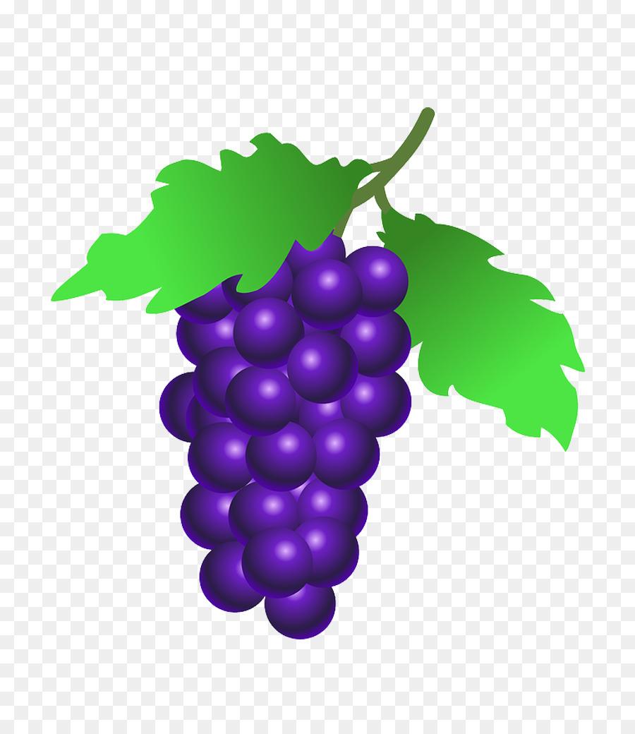 Grape Cartoon clipart.