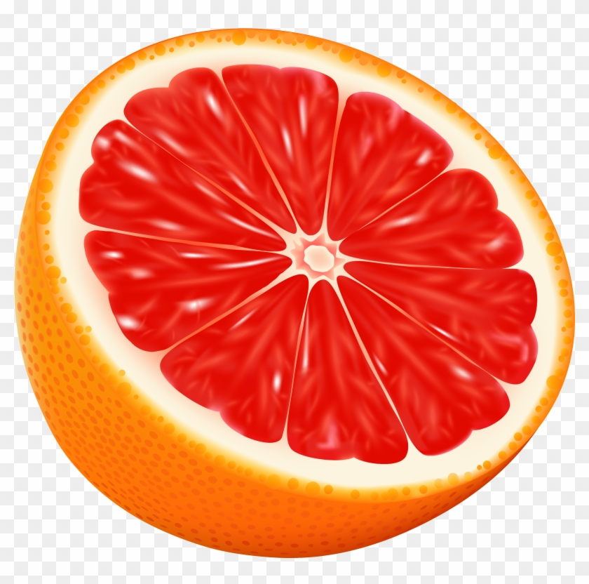 Half Red Orange Png Vector Clipart Image Gallery Yopriceville.