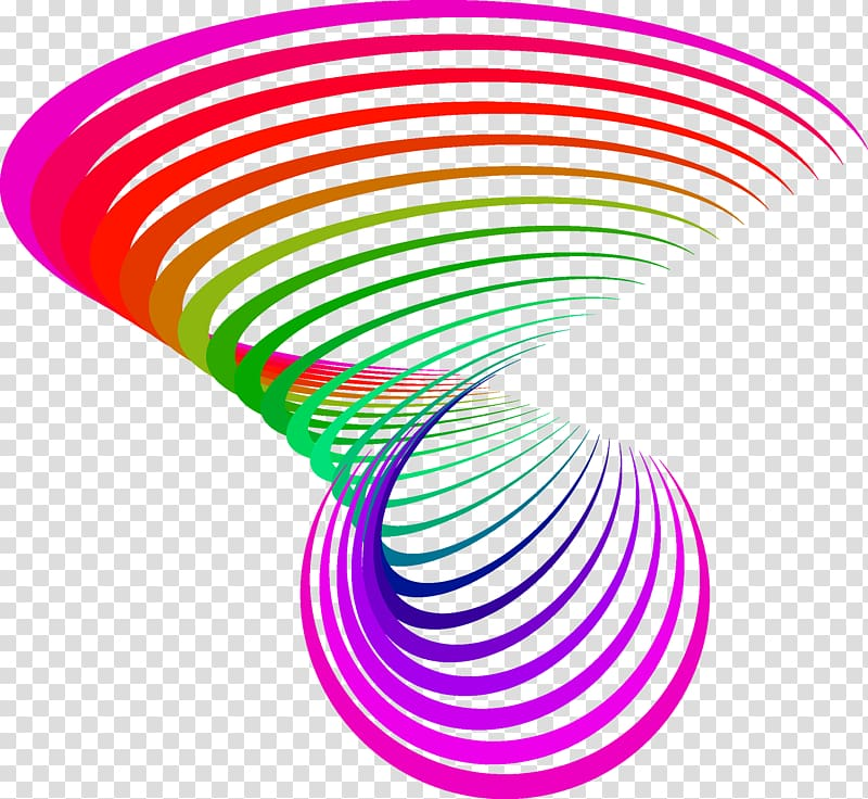 Line Graphic design, Colorful stripes transparent background.