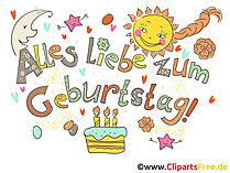 Geburtstag Bilder, Cliparts, Gifs, Illustr #465784.