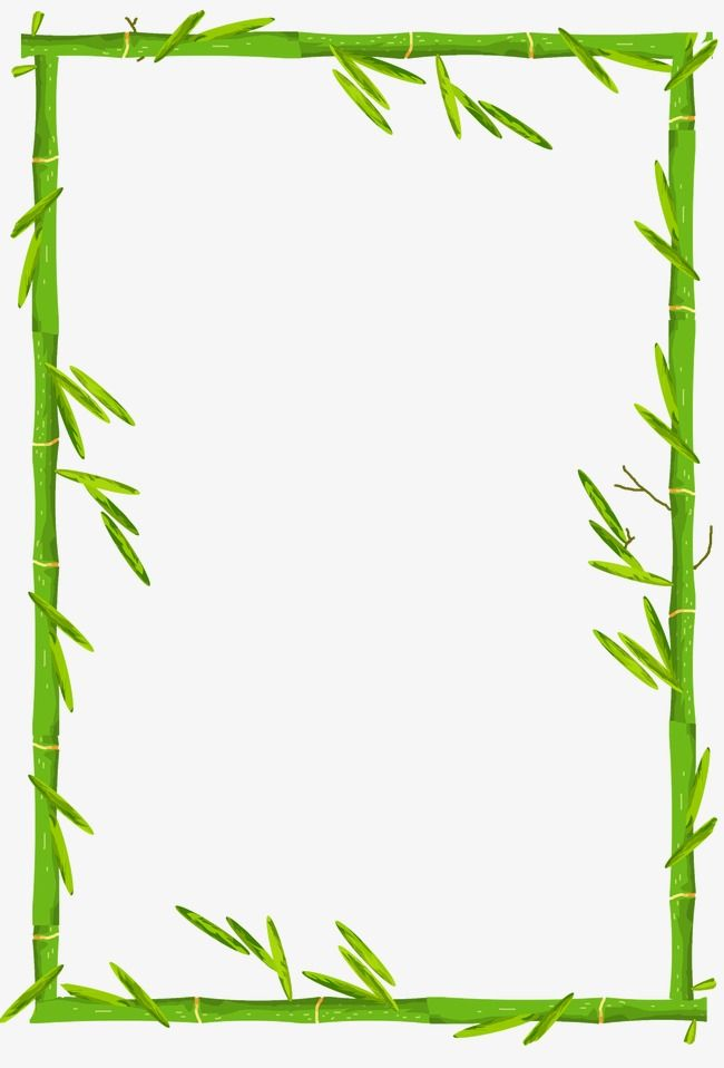 Bamboo Border, Bamboo Clipart, Frame PNG Transparent Image and.