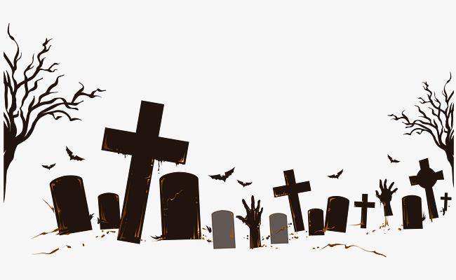 Graveyard Cross, Cross Clipart, Halloween, Terror PNG Transparent.