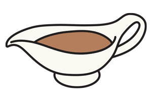 Gravy boat illustration set » Clipart Station.