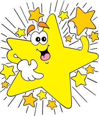 Great job good job star clipart.