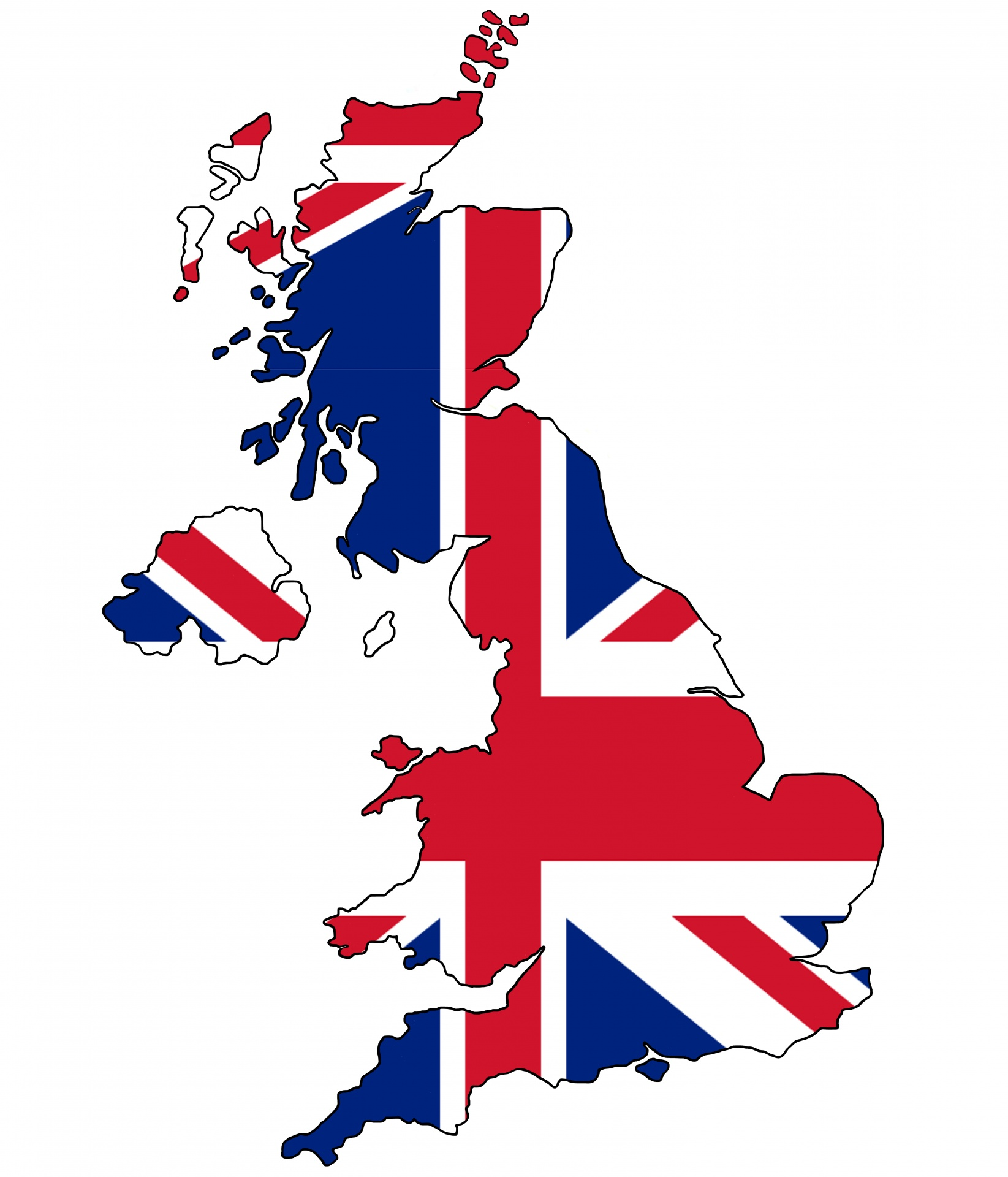 Collection of Britain clipart.