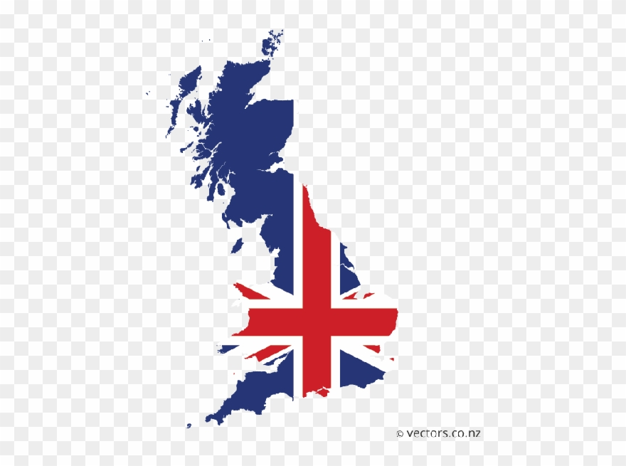 This Is The Union Of Great Britain That Includes England Clipart.