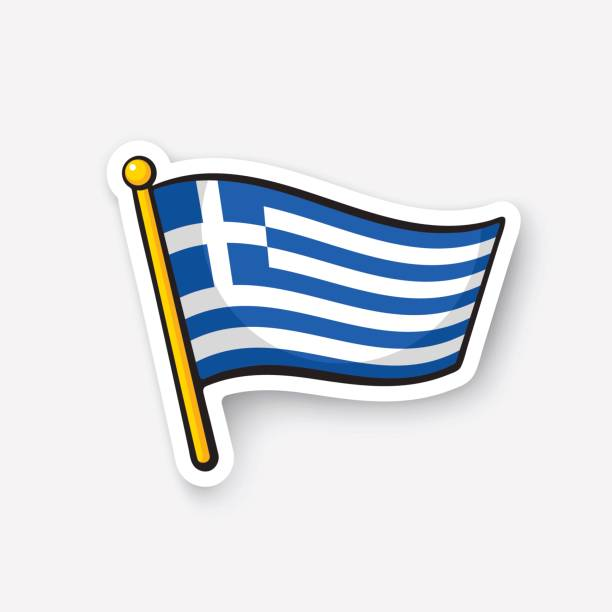 Best Greece Flag Illustrations, Royalty.