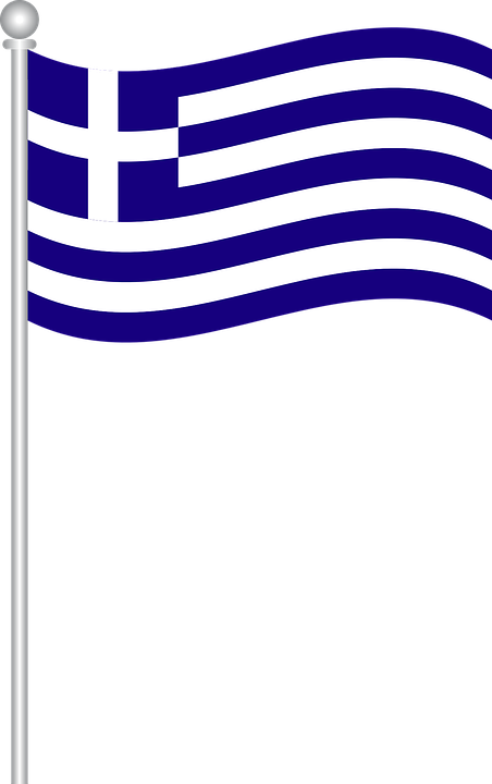 Flag Of Greece, Flag, Greece, World Flags.