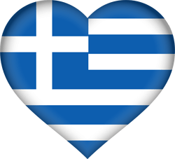 Greece flag clipart.
