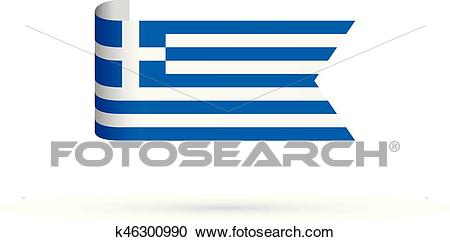 Greek flag Clipart.