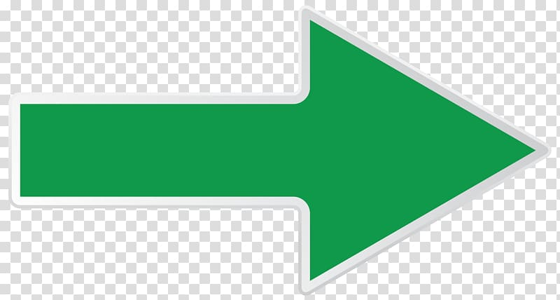 Green arrow sign, Brand Logo Line Angle, Green Right Arrow.