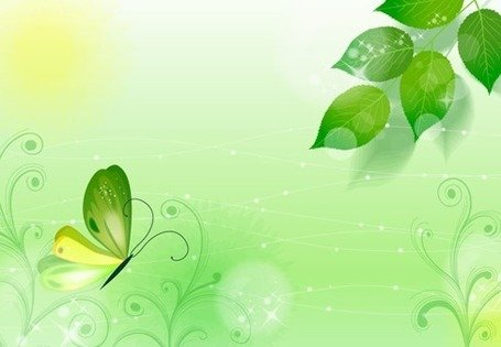Spring Green Background Clipart Picture Free Download.