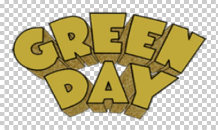 Logo Green Day Dookie Typography PNG, Clipart, Album, Angle.