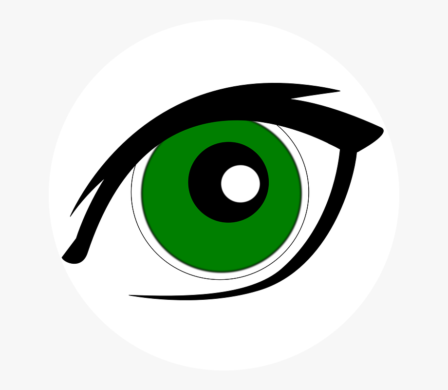Clipart Of Green Eyes , Transparent Cartoon, Free Cliparts.
