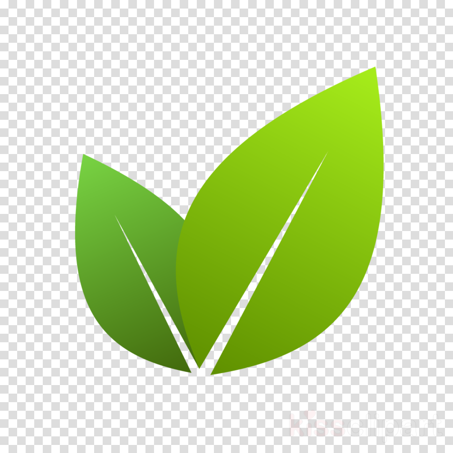 green leaf logo plant clipart.