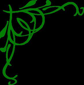 Green Heart Swirls Clip Art at Clker.com.