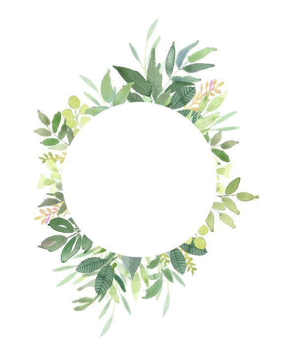 Green Leaves Frames.