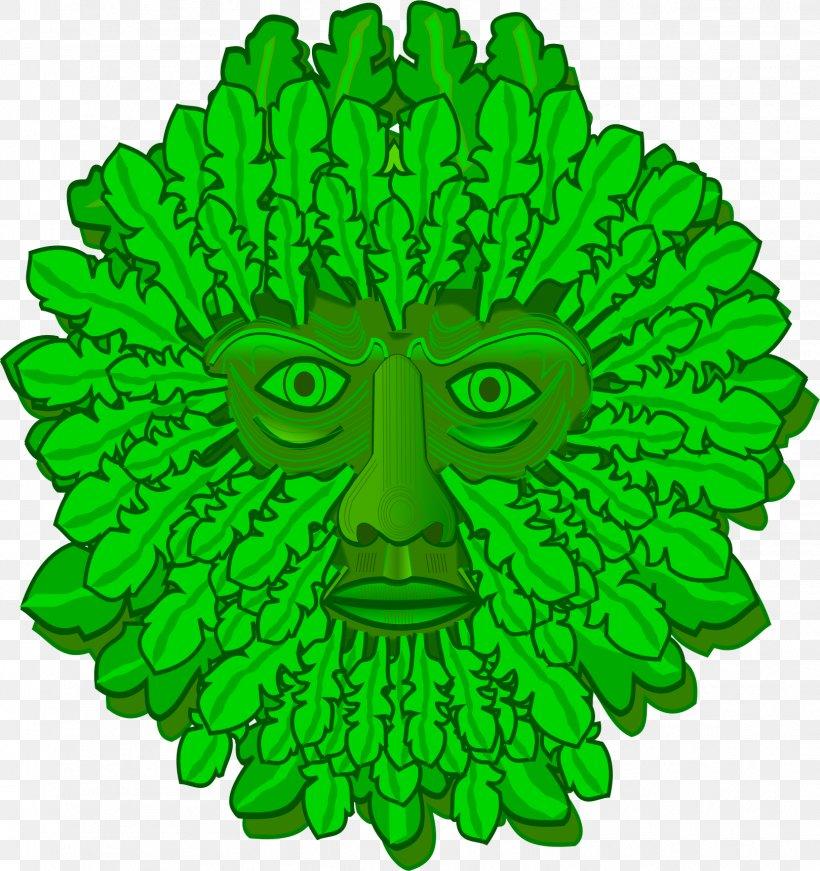 Green Man Symbol Clip Art, PNG, 1619x1721px, Green Man.